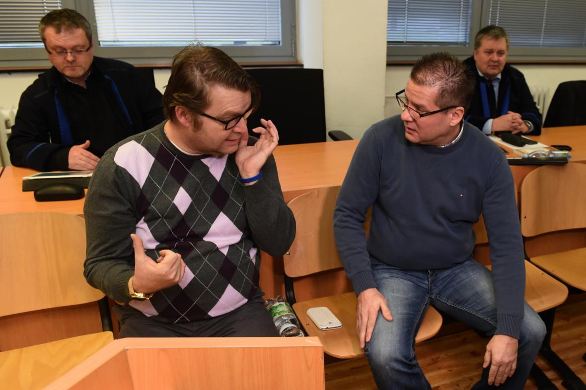 Pavel Markvart a Petr Kušnierz
