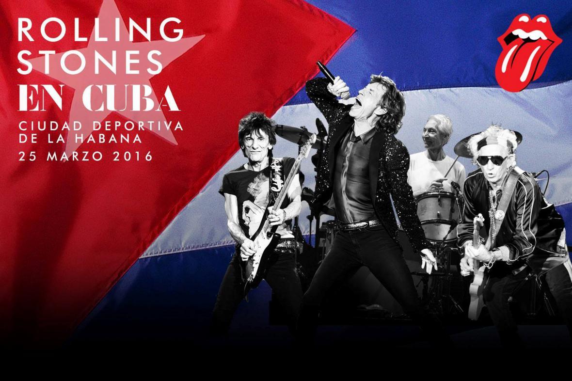 Rolling Stones zahrají na Kubě