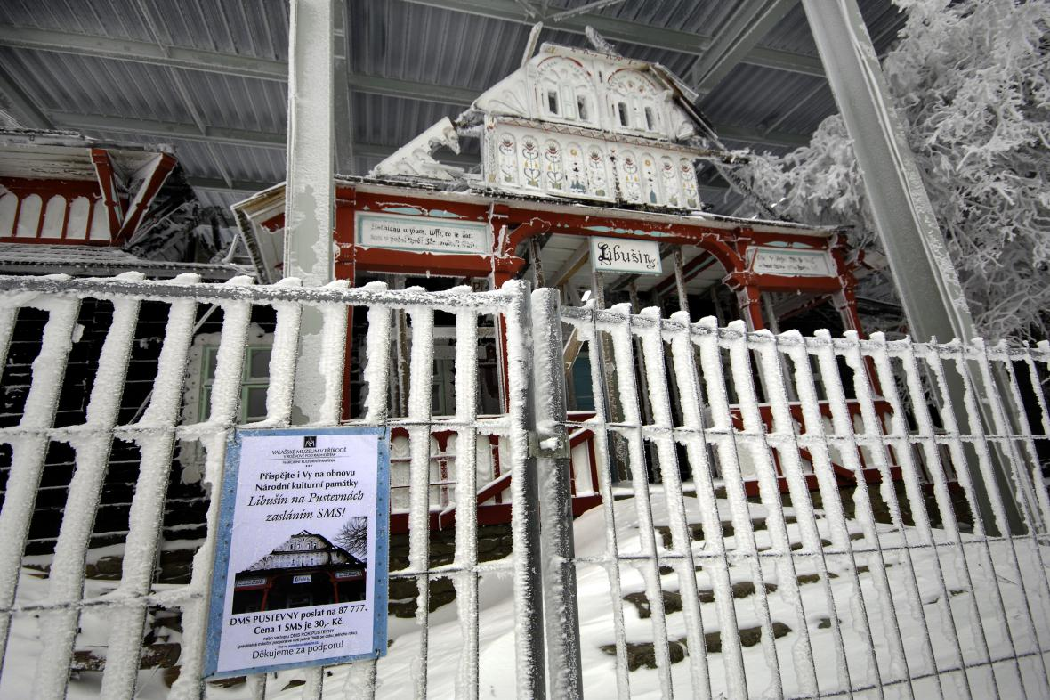 Obnova chaty Libušín vyjde na zhruba 80 milionů