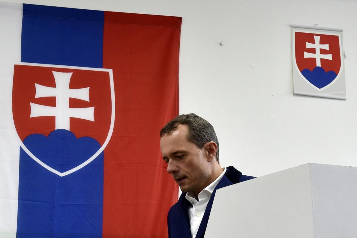 Předseda strany Sieť Radoslav Procházka