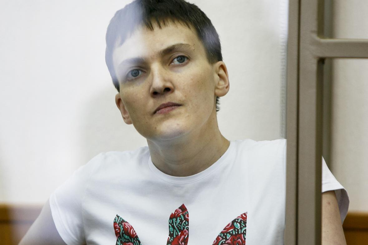 Savčenková před soudem
