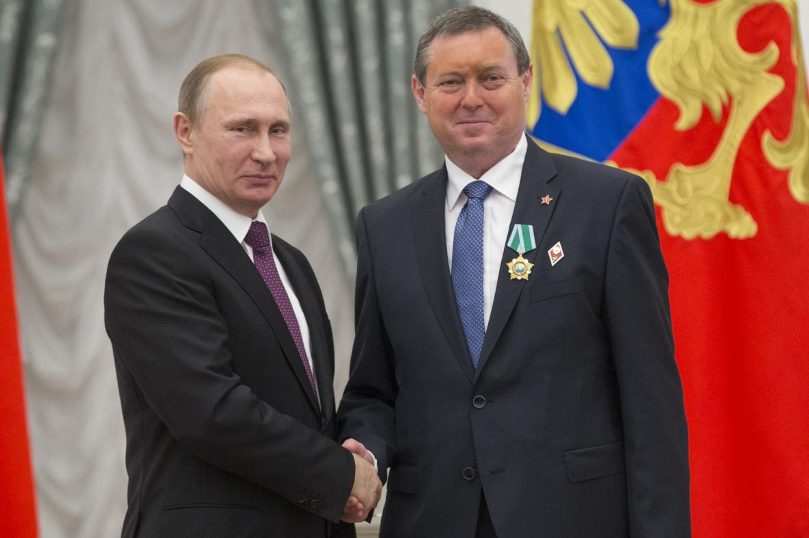 Setkání Maštálky s ruským prezidentem
