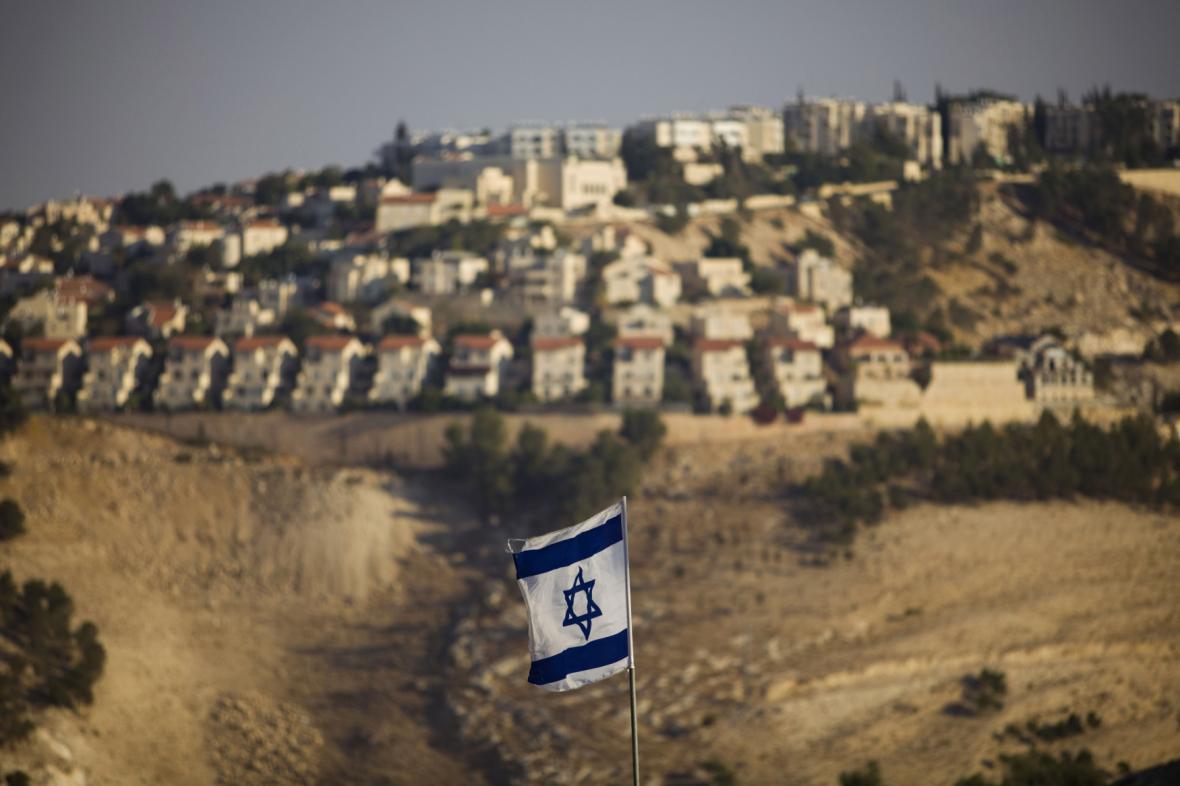 Jedna z židovských osad na Západním břehu Jordánu