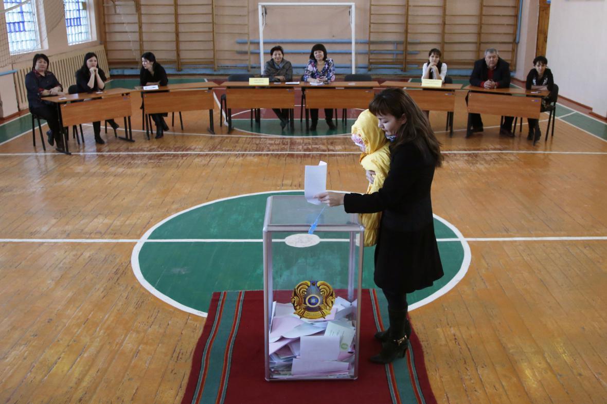 Parlamentní volby v Kazachstánu