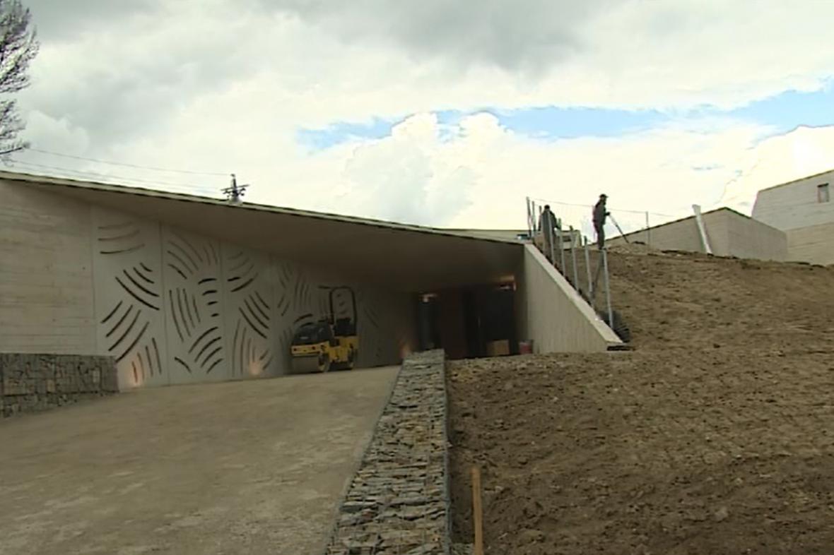 Budova nového archeoparku