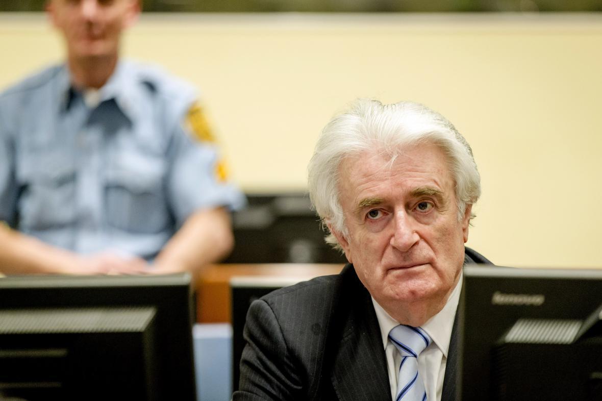 Radovan Karadžić před soudem