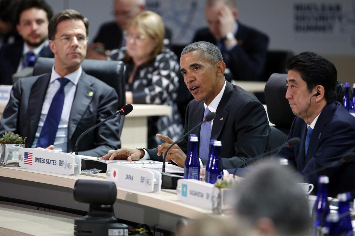 Barack Obama na jaderném summitu