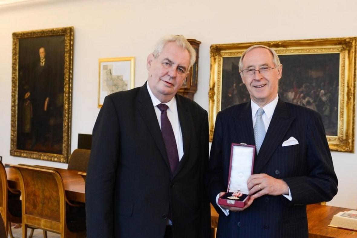 Miloš Zeman a Ferdinand Trauttmansdorff