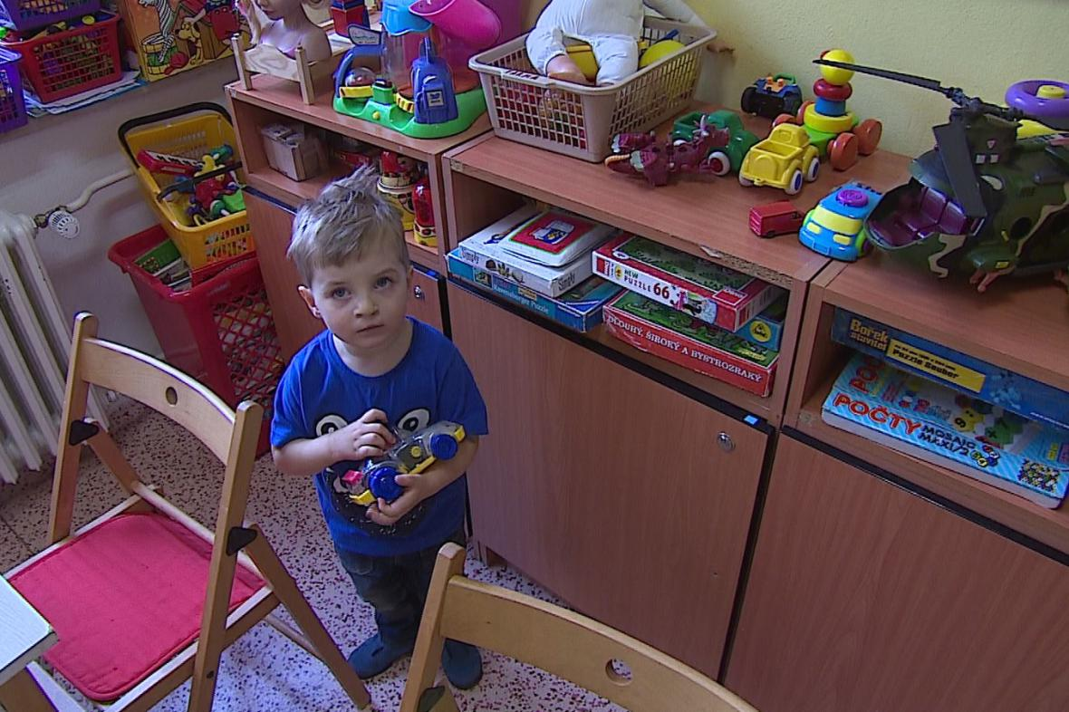 Tříletý Jakub se narodil s rozštěpem obličeje
