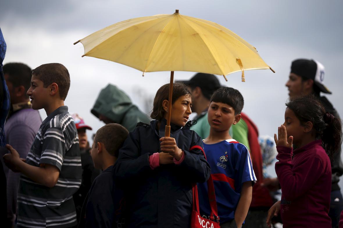 Uprchlíci chtějí zůstat v řeckém táboře v Idomeni