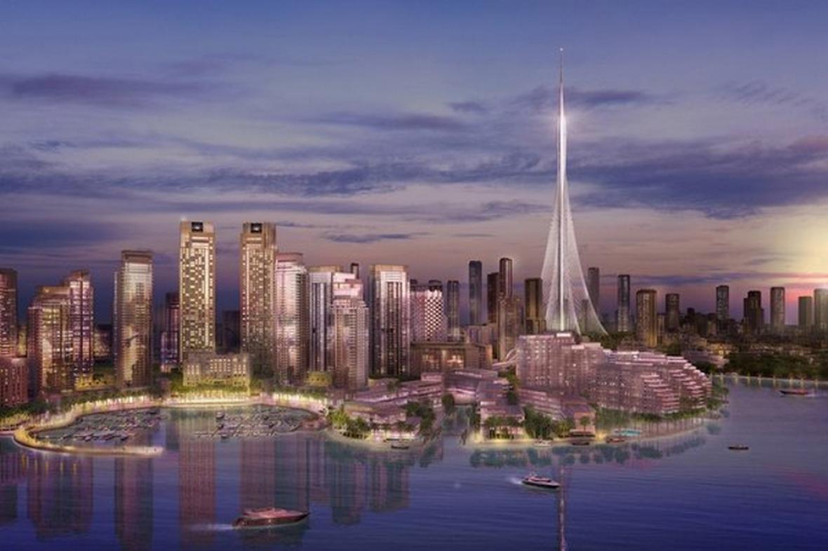 Vizualizace nové nejvyšší budovy světa