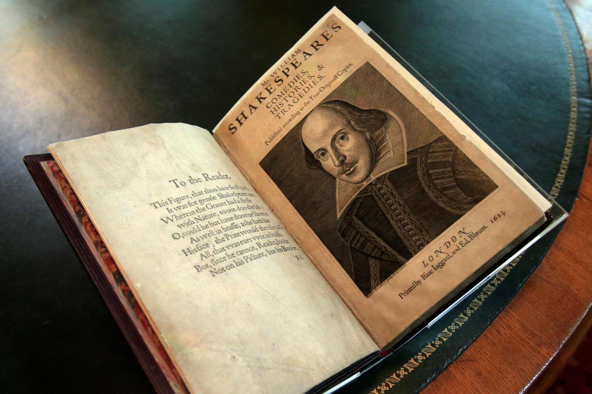 První vydání Shakespearových her