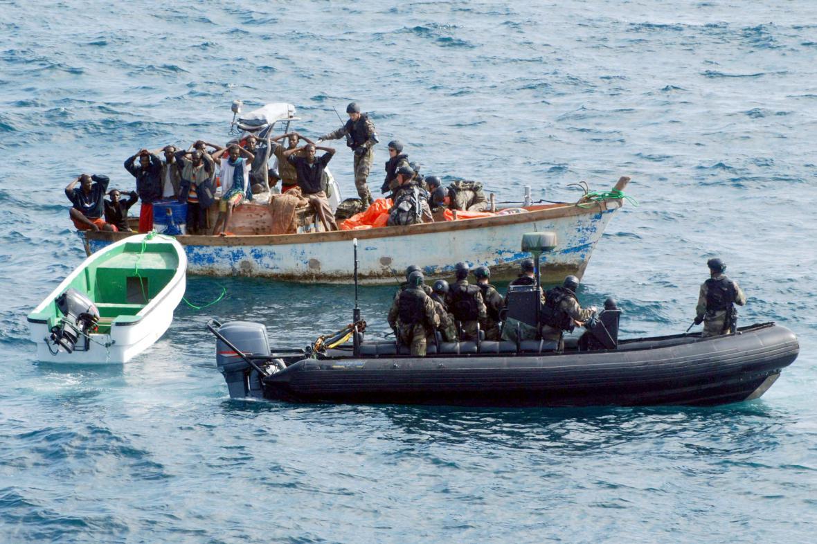 Námořní piráti, ilustrační foto