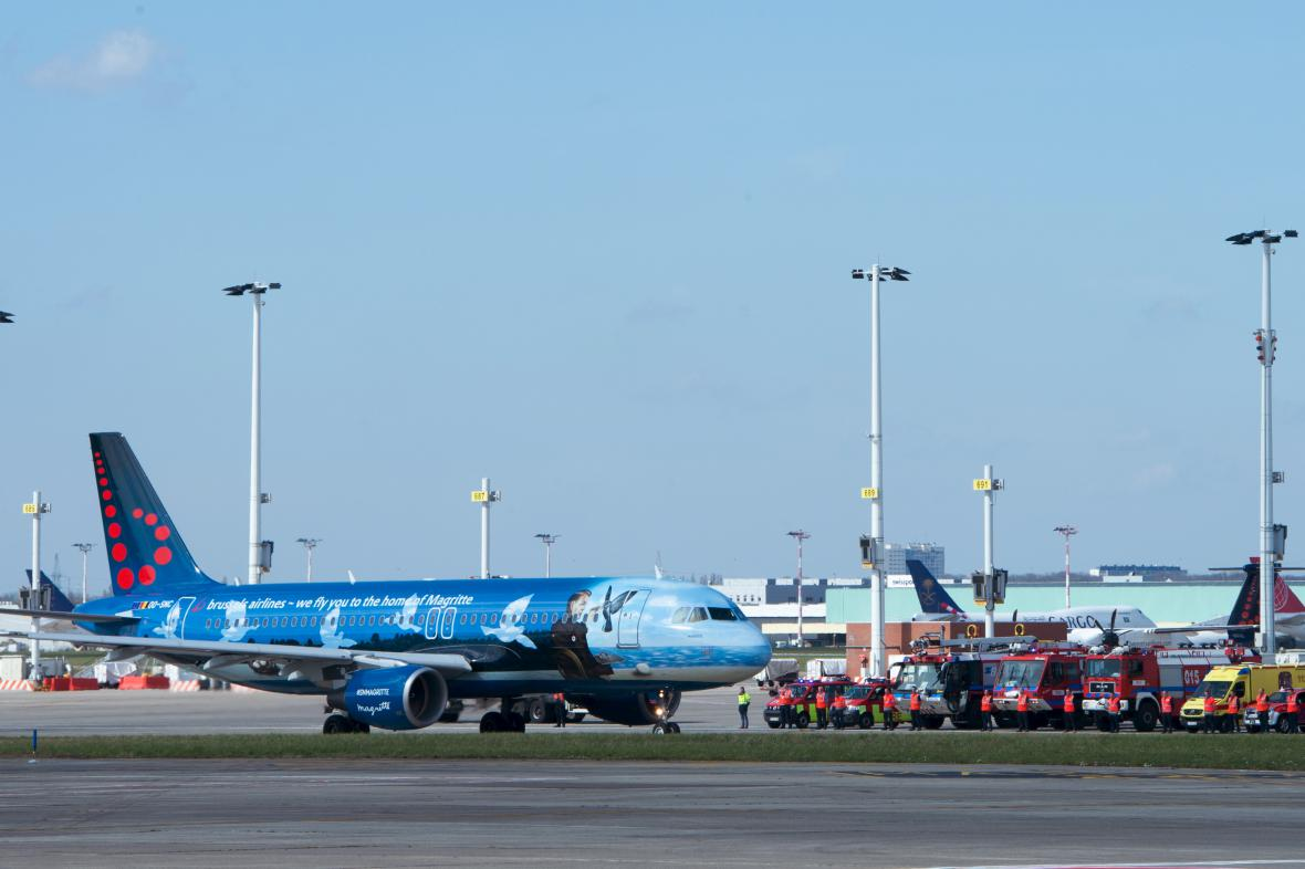 Bruselské letiště Zaventem