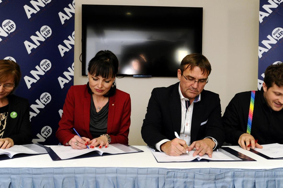 Koalice Zelených, lidovců, ANO a Žít Brno je minulostí