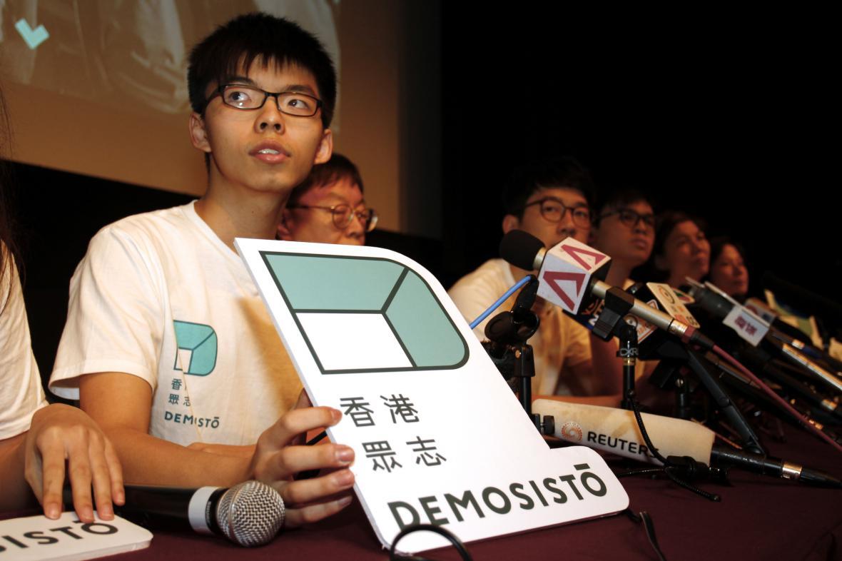 Joshua Wong zakládá politickou stranu