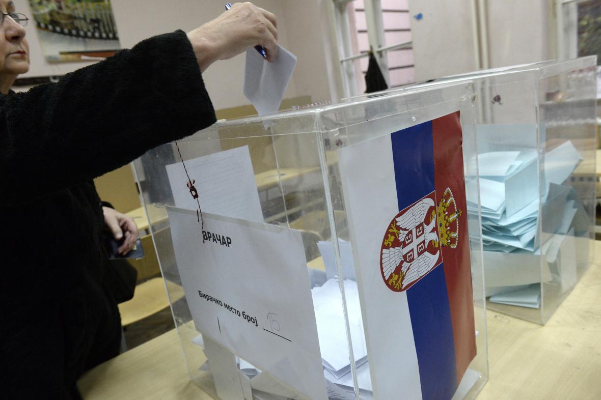 Srbské parlamentní volby