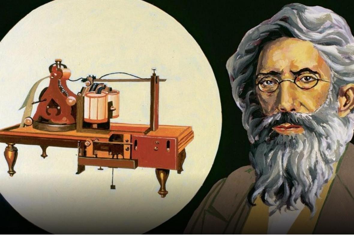 Samuel Morse a telegraf