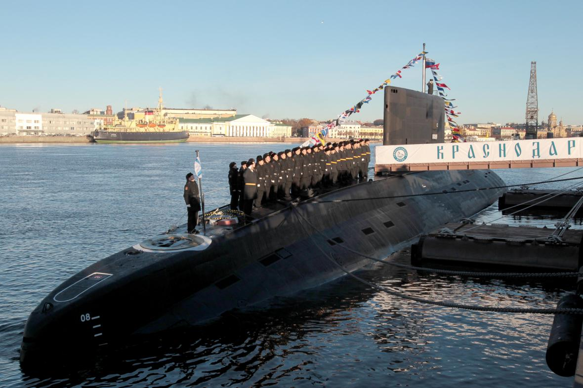 Ruská ponorka Krasnodar