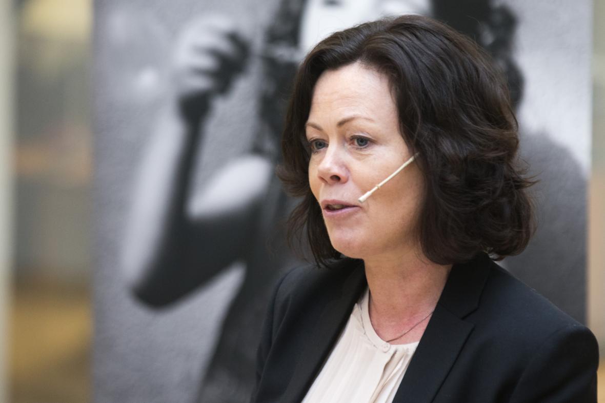 Norská ministryně pro děti a rovnost Solveig Horneová