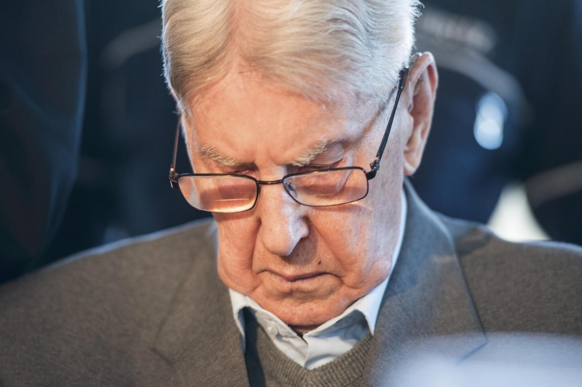 Reinhold Hanning před soudem