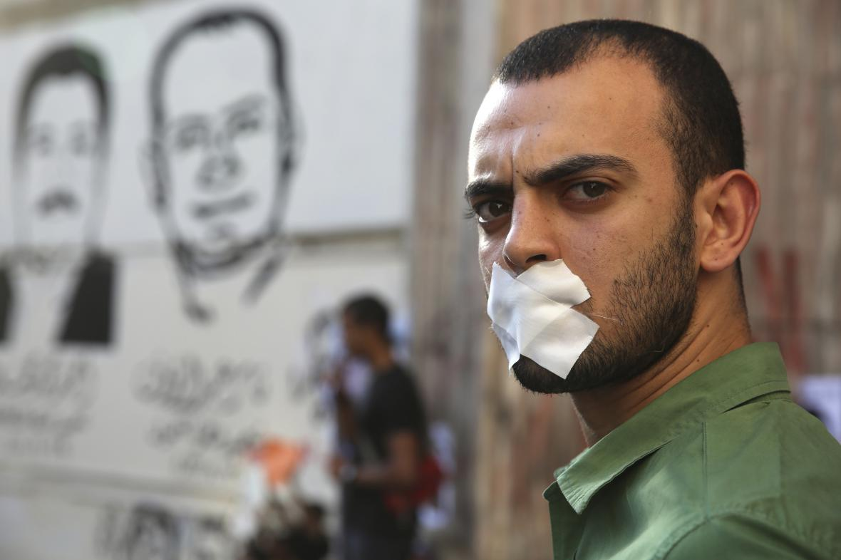 Protest za svobodu médií