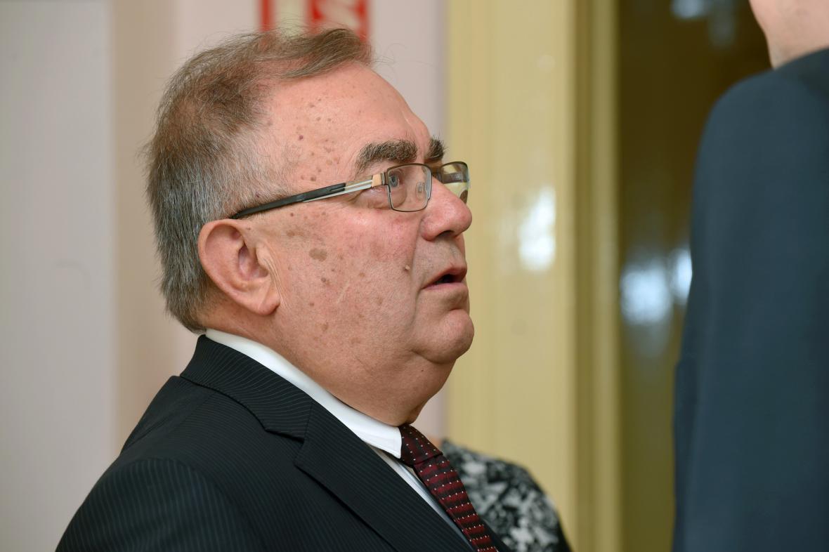Bývalý generální ředitel zkrachovalé společnosti OP Prostějov František Tuhý