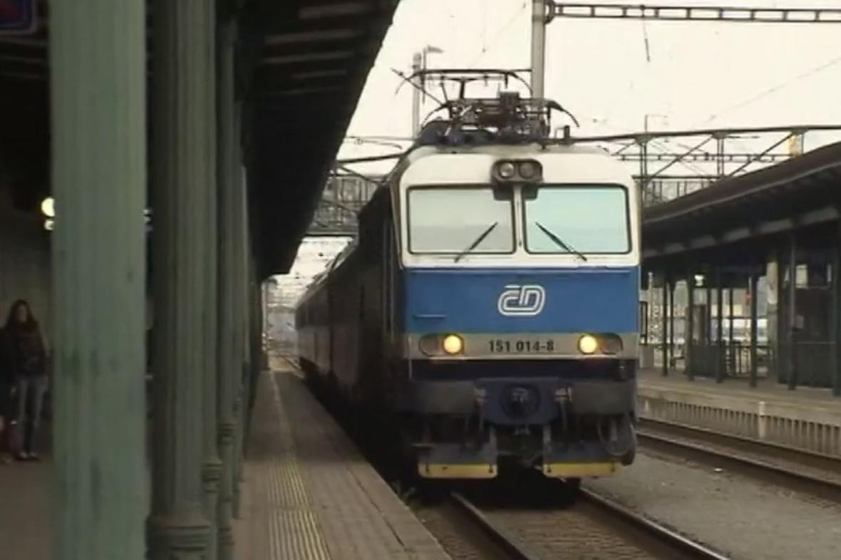 Vlak Ostravan