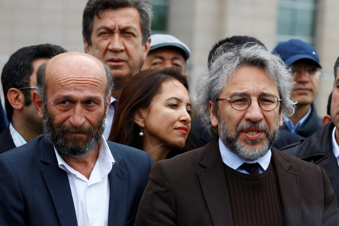Erdem Gül (vlevo) a Can Dündar