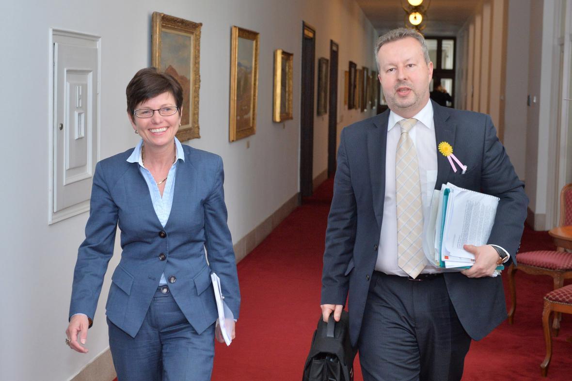 Ministr životního prostředí Brabec jednal na zámku v Lednici
