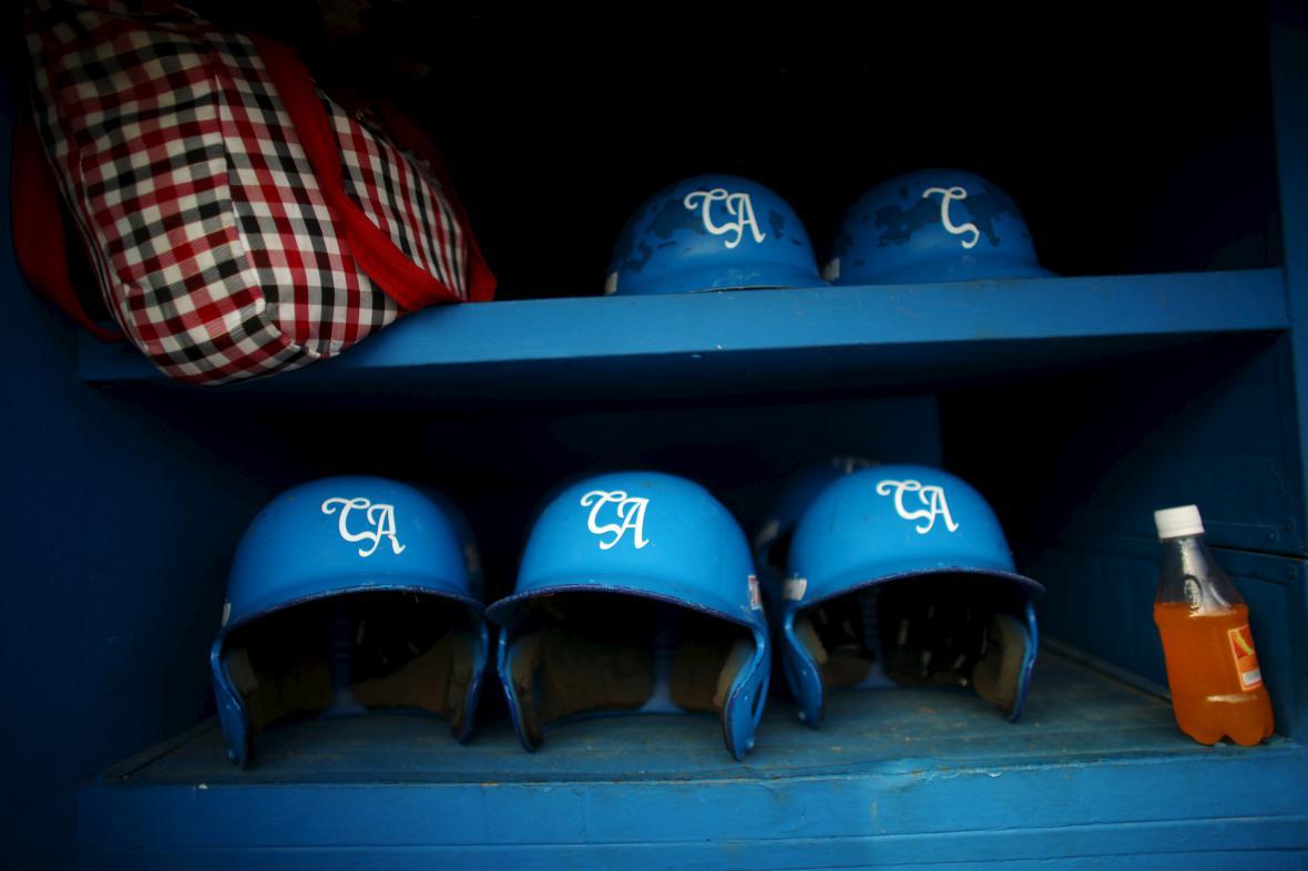 Baseballové přilby