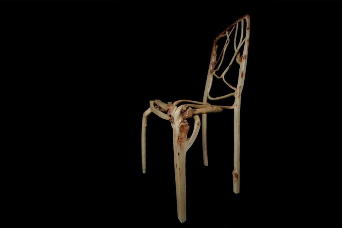 Židle z přírodní dílny Full Grown