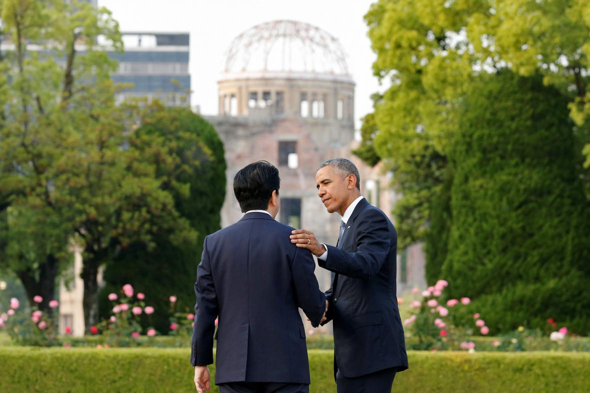 Barack Obama v Hirošimě
