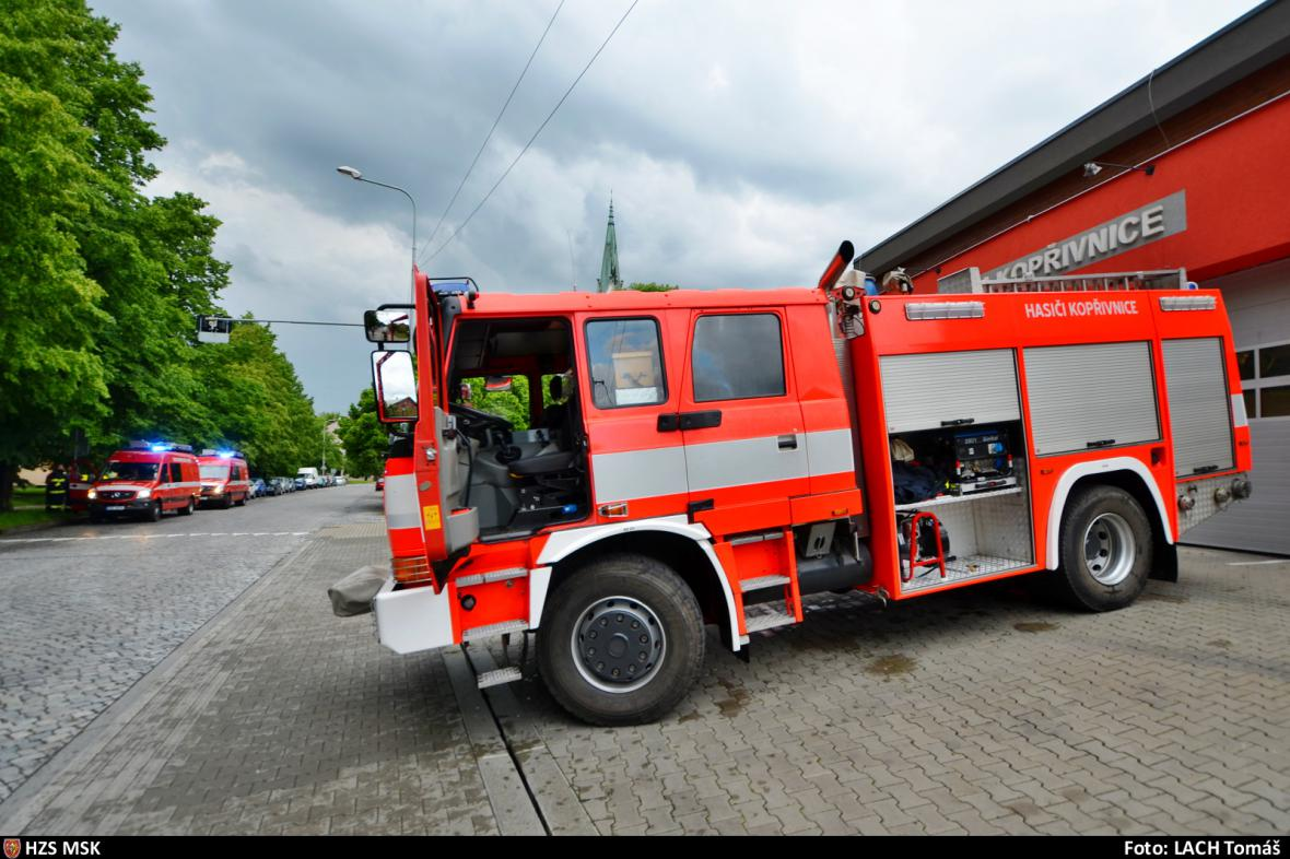 Kopřivničtí hasiči
