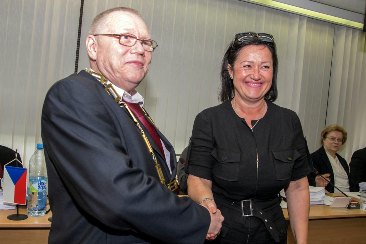 Vladimír Novák a Radmila Kleslová