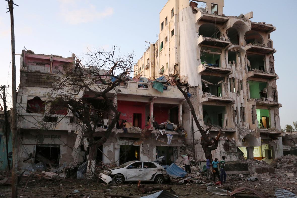 Útok na hotel Ambassador v Mogadišu