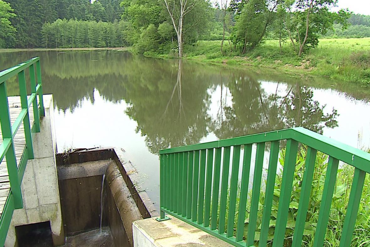 Na Drahanské vrchovině vznikají nové rybníky