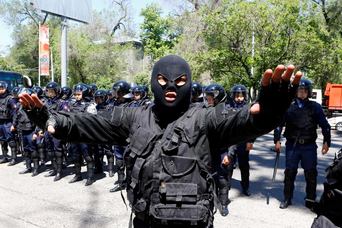 Kazašská policie