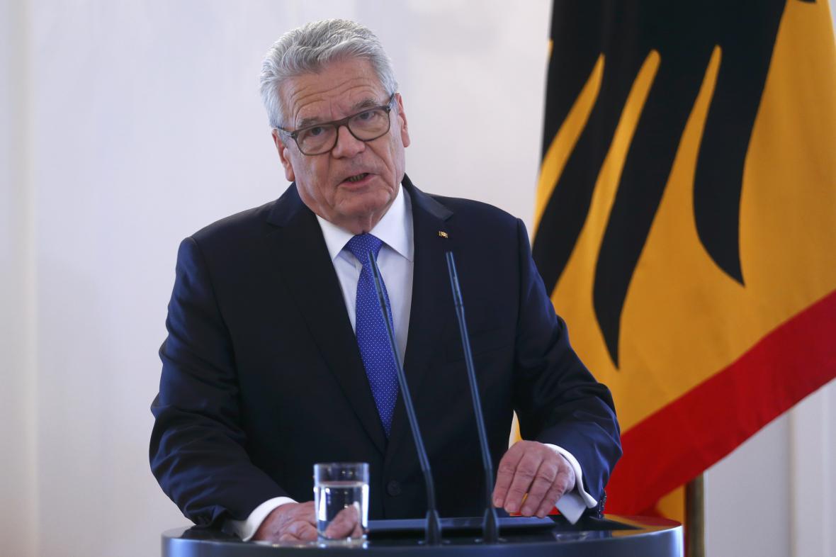 Joachim Gauck se nebude ucházet o další funkční období