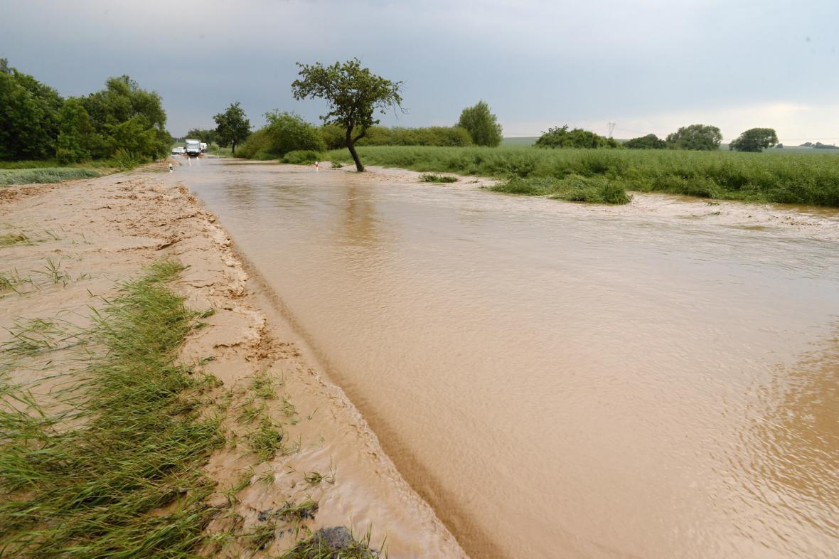 Plzeňsko spláchly prudké deště