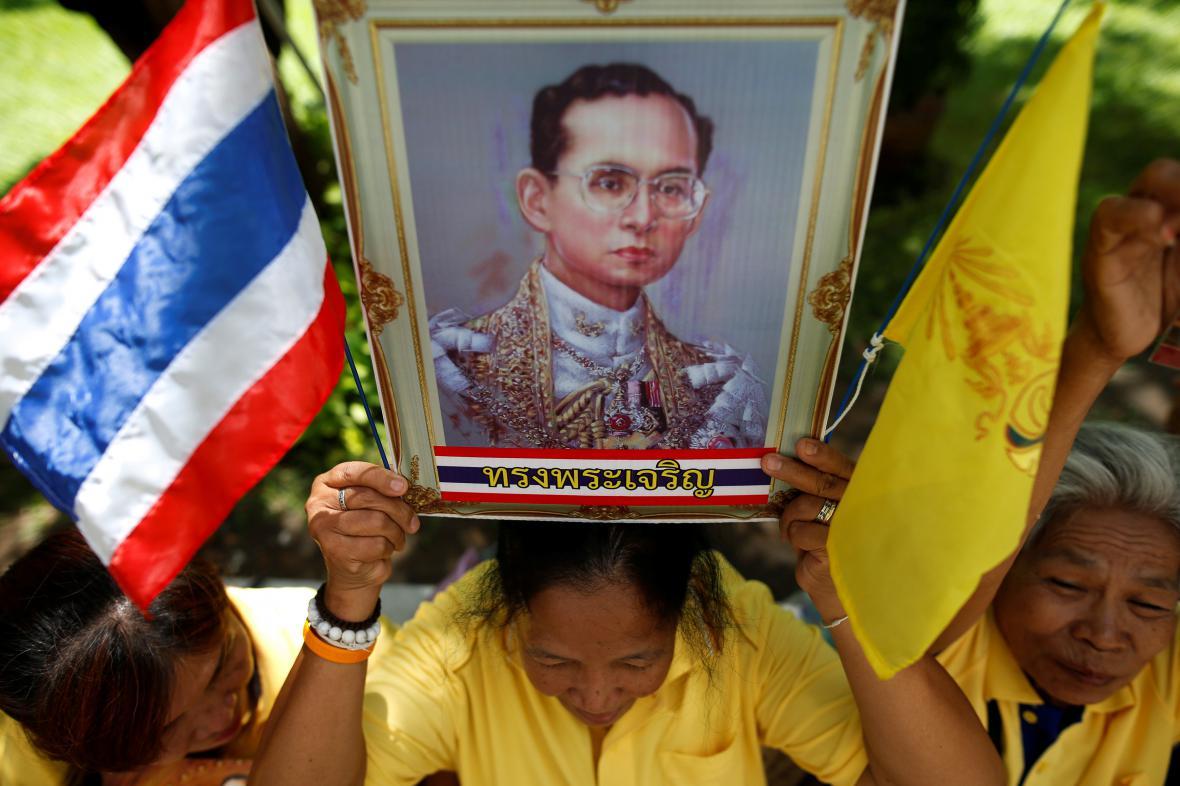 Oslavy výročí thajského krále