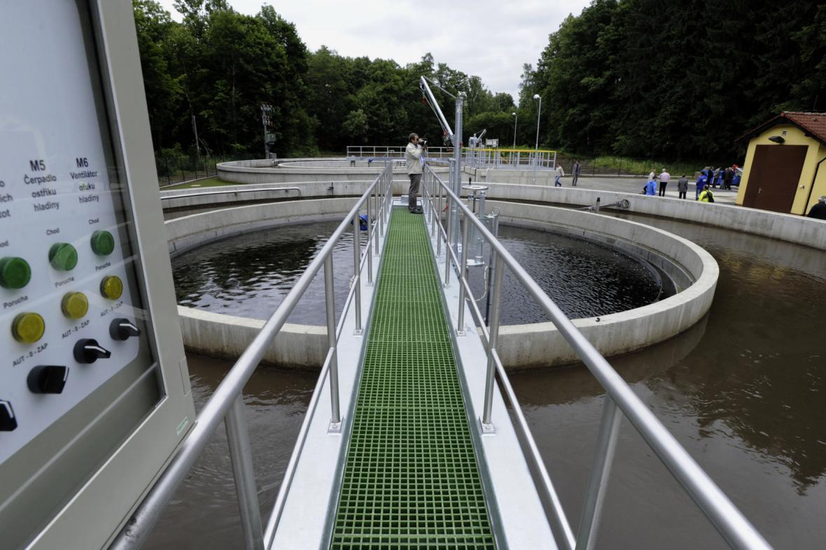 Podobné čistírny odpadních vod se chystají postavit další desítky obcí