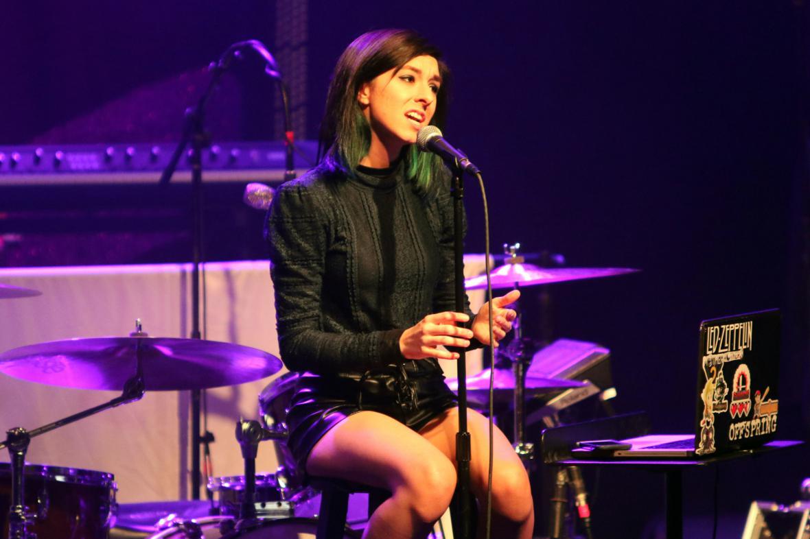 Americká zpěvačka Christina Grimmieová