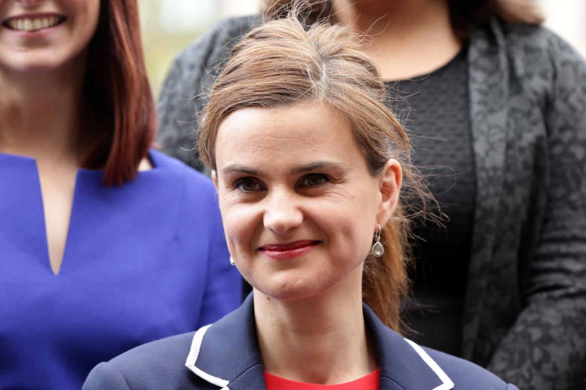 Britská poslankyně Joanne Coxová