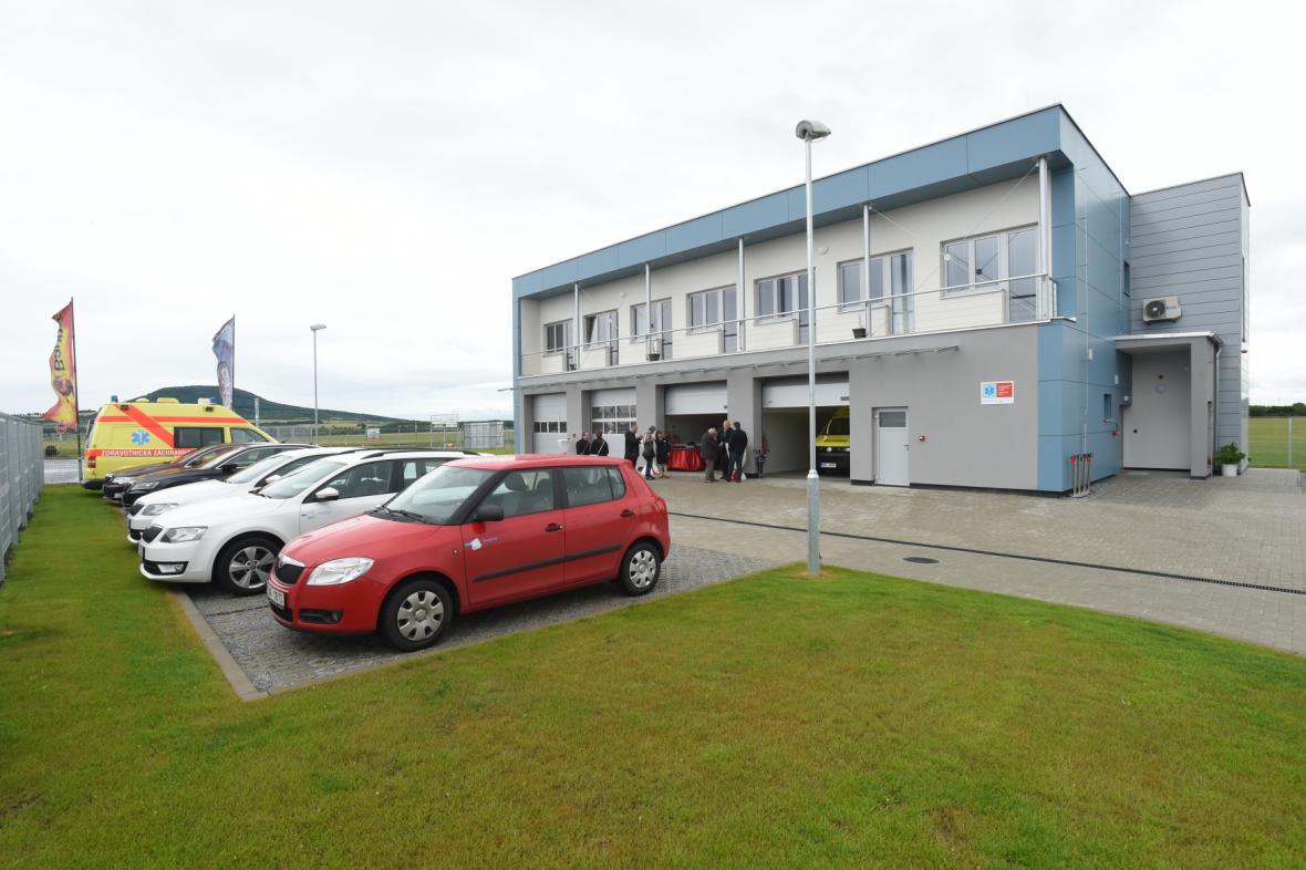 Nové stanoviště záchranné služby v Roudnici