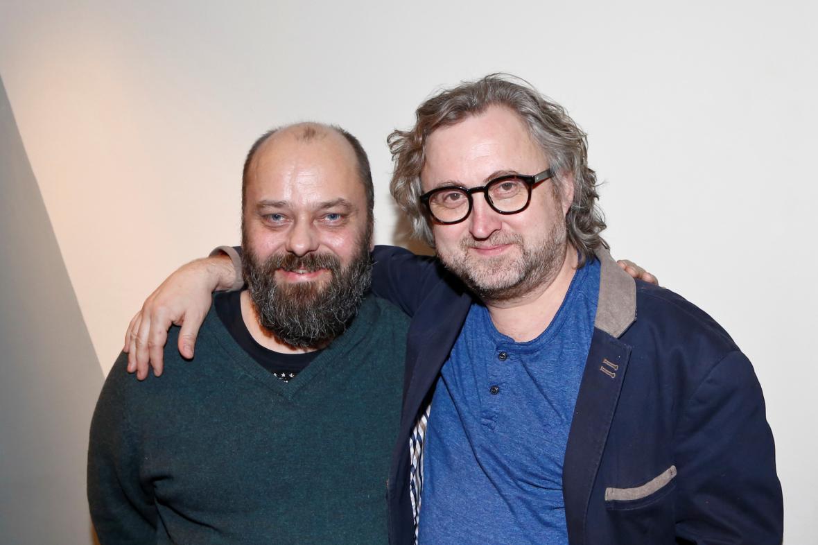 Petr Jarchovský a Jan Hřebejk