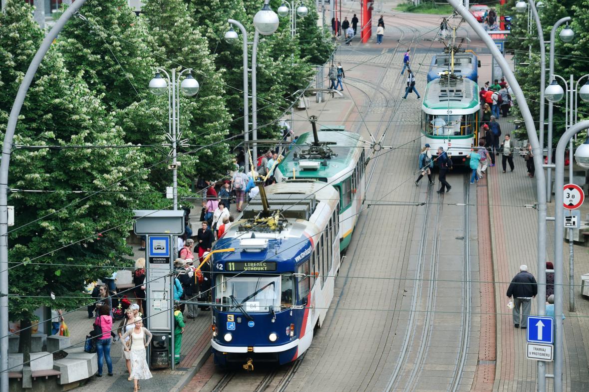 Liberecké tramvaje