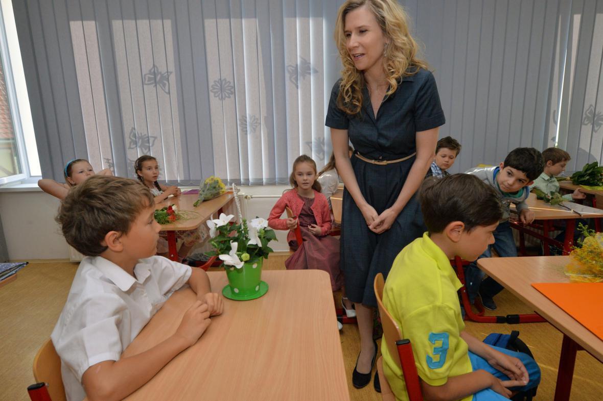 Ministryně školství Kateřina Valachová