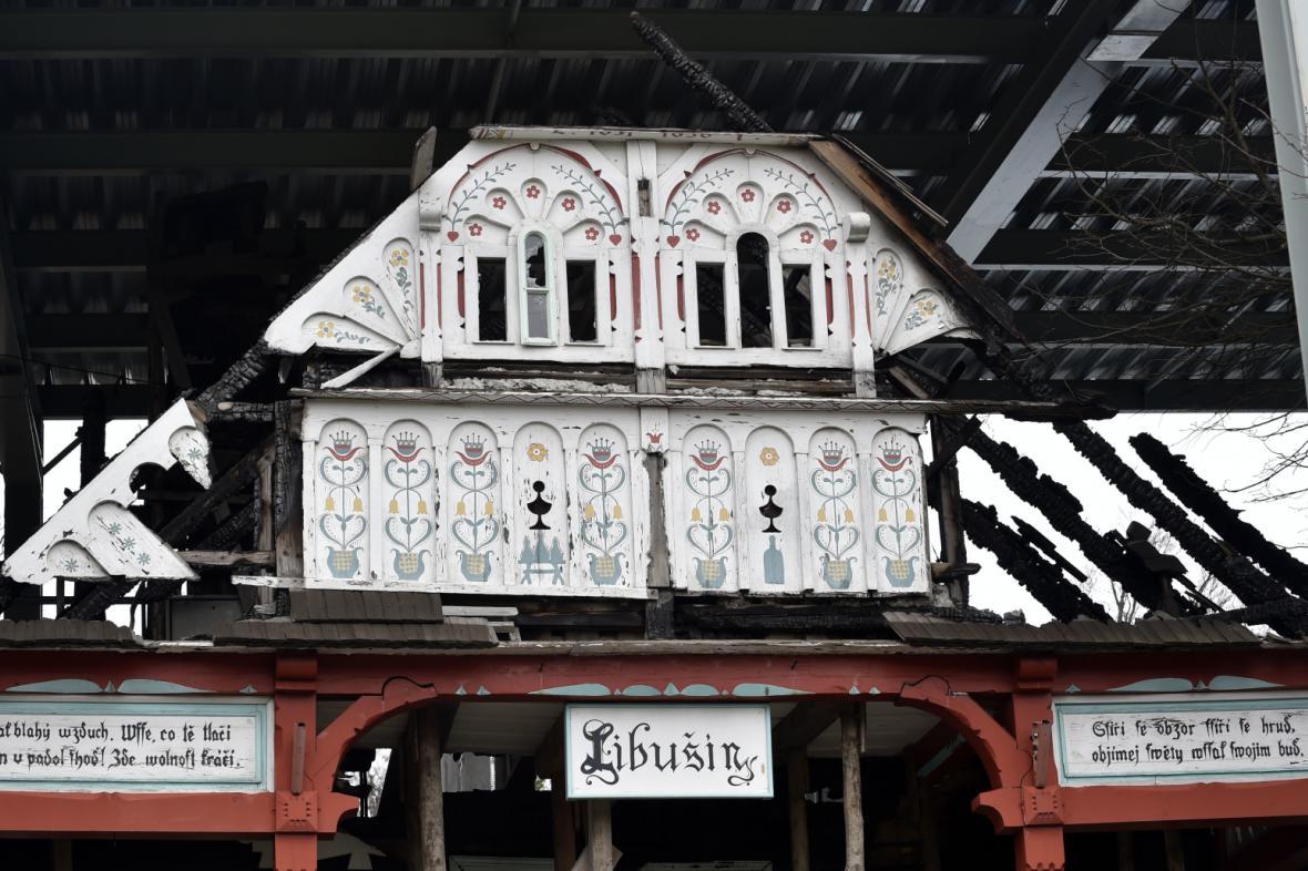 Chata Libušín těsně před rekonstrukcí