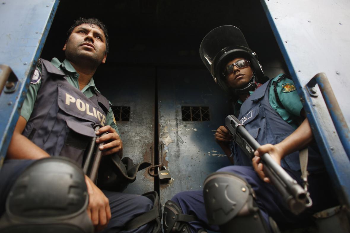 Bangladéšské zásahové složky